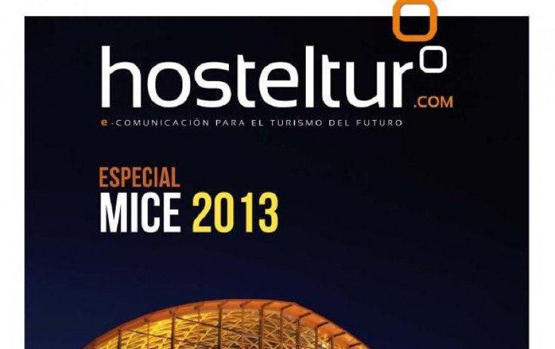 Detalle de la portada del Especial MICE 2013.
