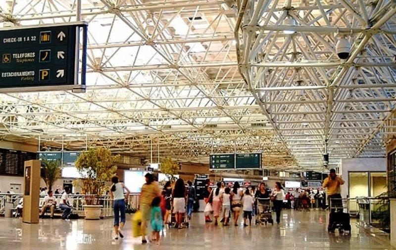 Aeropuerto Internacional Antônio Carlos Jobim de Río de Janeiro, el más importante y con mayor flujo de pasajeros.