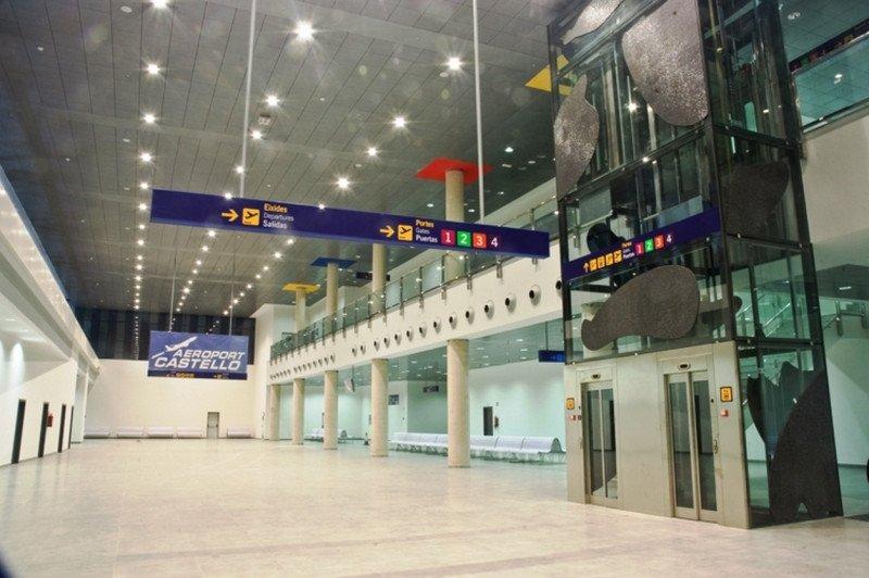 Aeropuerto de Castellón, una infraestructura aún por estrenar.