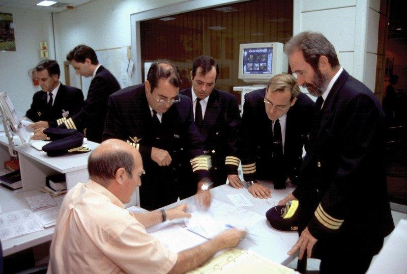 Iberia se reunía este miércoles con el sindicato de pilotos.