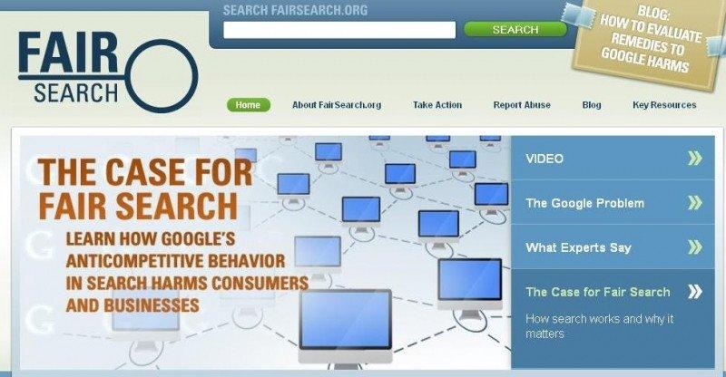 La CE tiene la última palabra sobre Google, según Fairsearch.org
