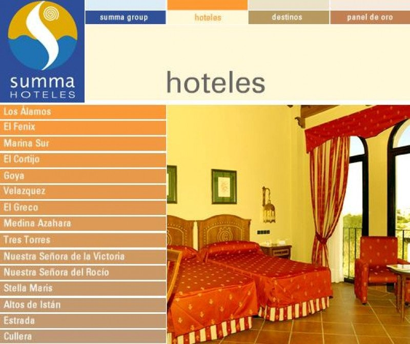 Los hoteles de Summa tendrán nuevo gestor.