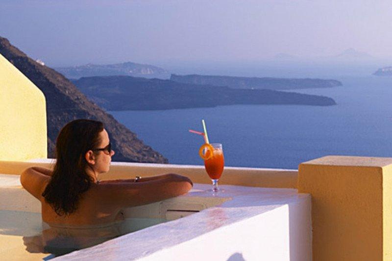 Imagen de Santorini, Grecia.