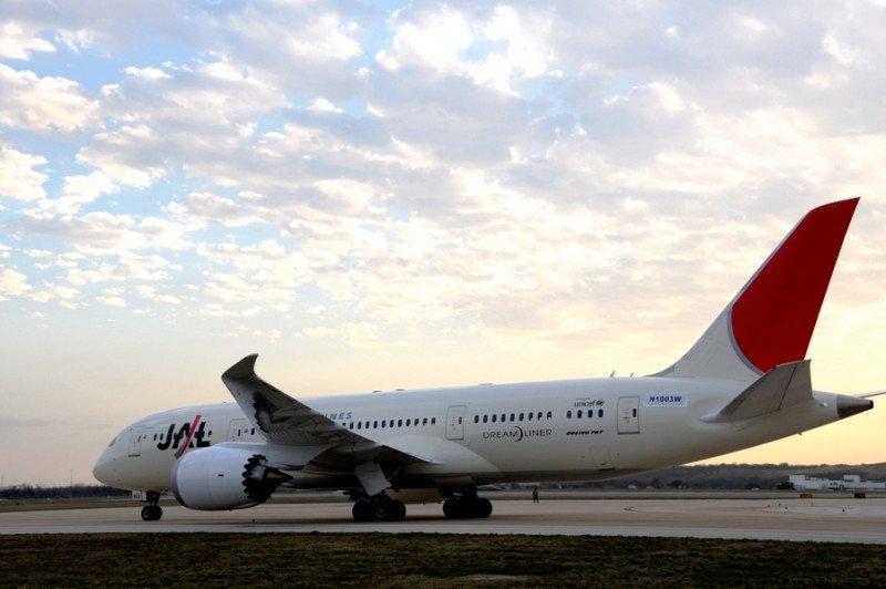 La serie de incidentes de la semana pasada se inició en un Boeing 787 de Japan Airlines, en el Aeropuerto de Boston.