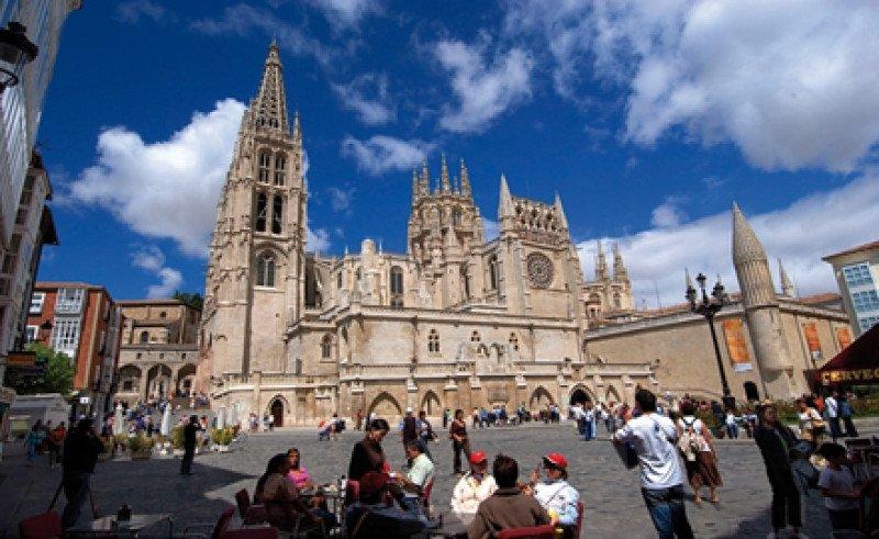 La catedral de Burgos, Patrimonio de la Humanidad por la Unesco.