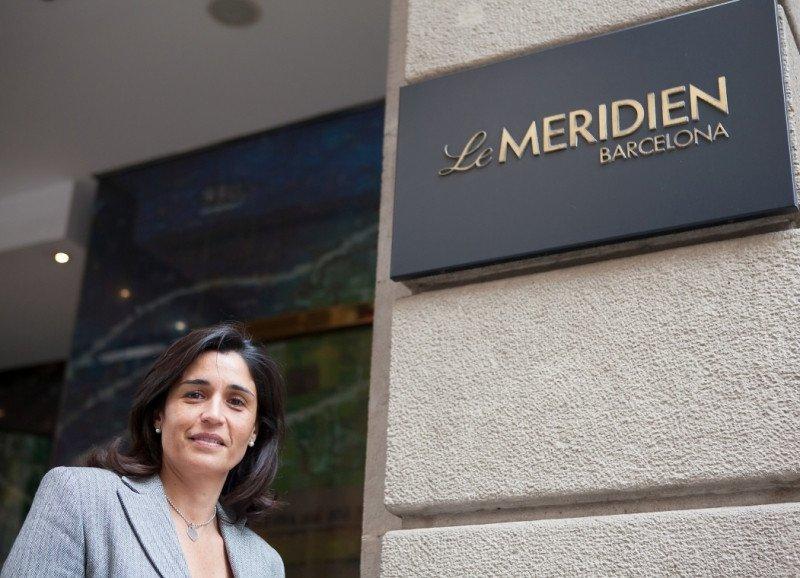 Elisa Barral, nueva directora de Le Méridien Barcelona.