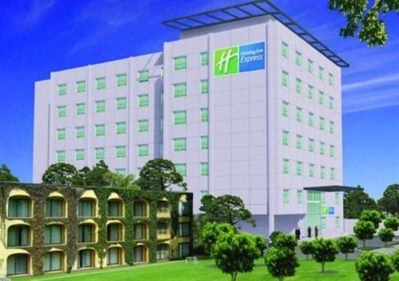 Nuevo Holiday Inn Express en la ciudad mexicana de Querétaro.