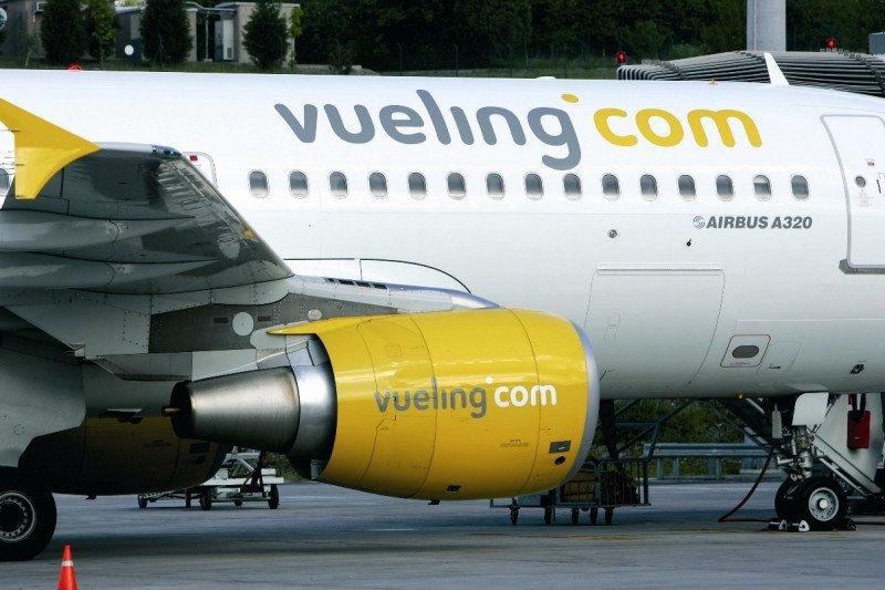 Vueling, la única de las tres principales operadoras low cost con España que presenta crecimiento.