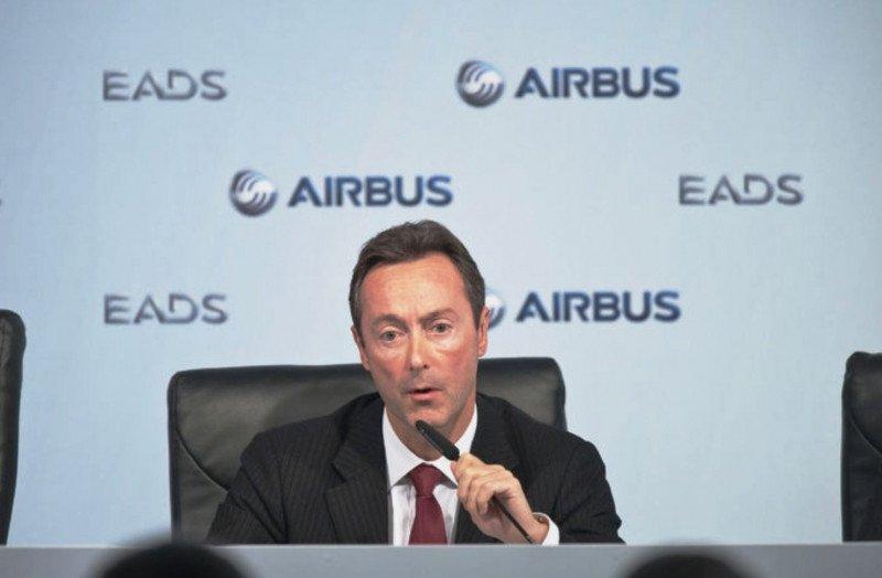Airbus contratará a 3.000 personas este año, más de 400 en España, según anuncia su presidente, Fabrice Brégier.