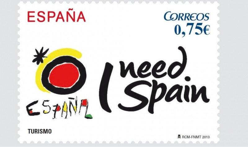 Nuevo sello 'I need Spain'.