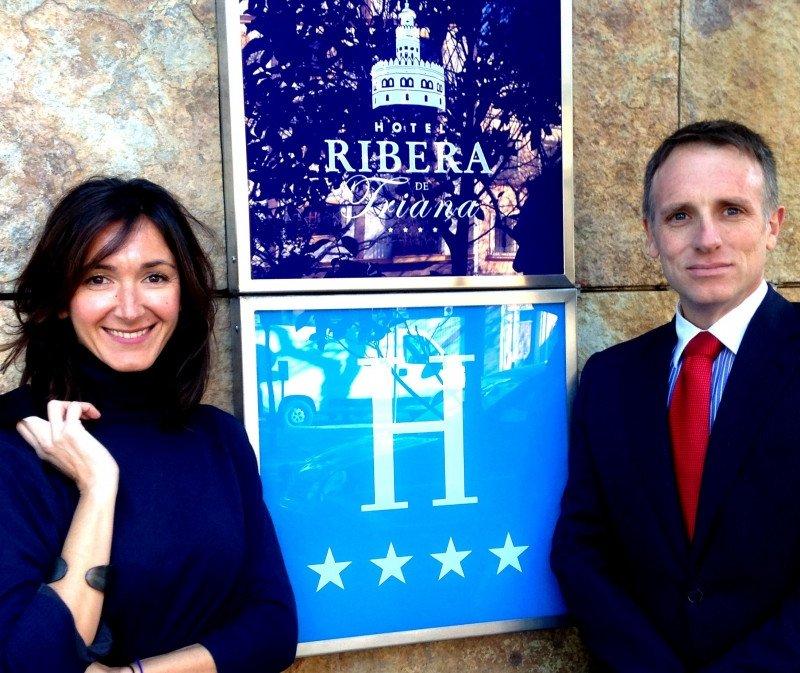 Pilar Marín y Amador Recio.