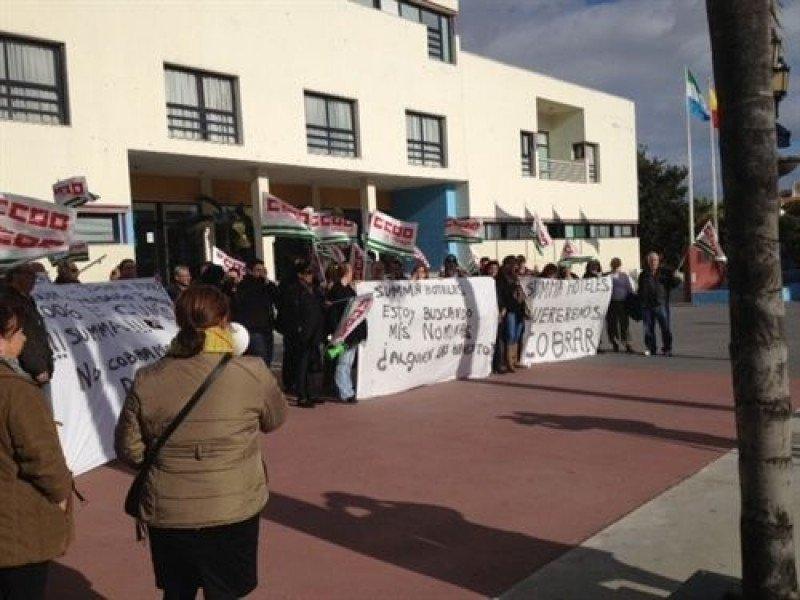 Trabajadores de Summa Hoteles vuelven a manifestarse.