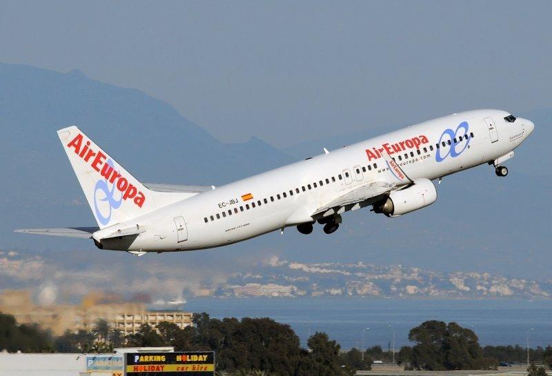 Air Europa cubrirá la ruta de Iberia uniendo Madrid con Montevideo.