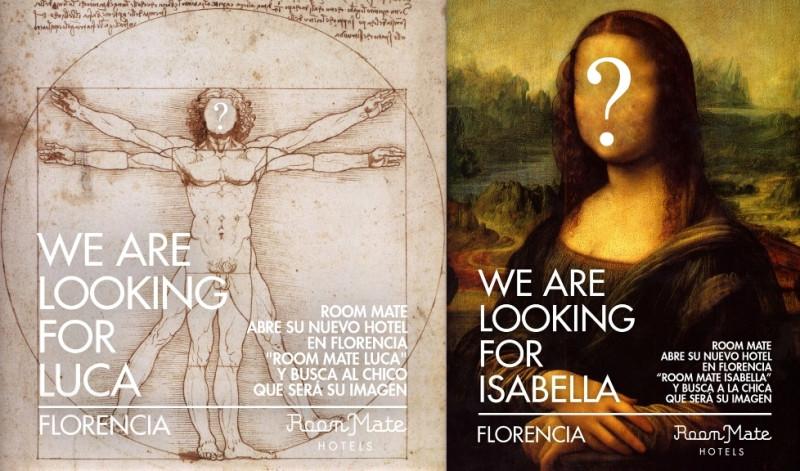 La cadena busca la imagen de Luca e Isabella.