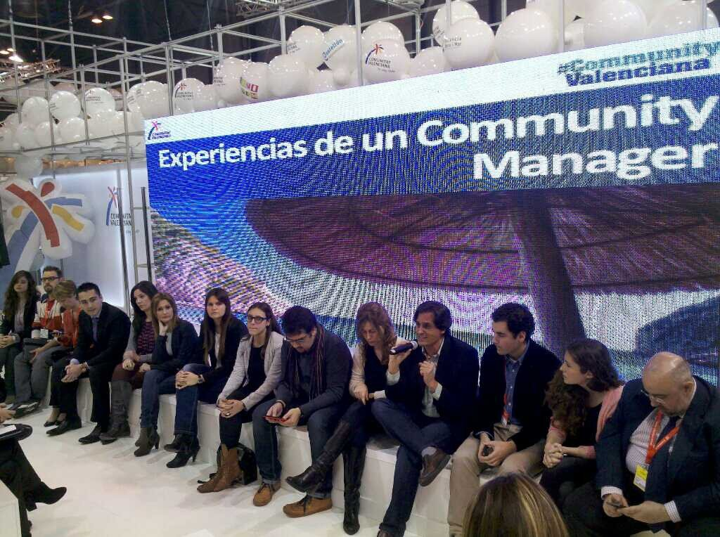 Comunitat Valenciana tiende puentes entre los community managers en Fitur