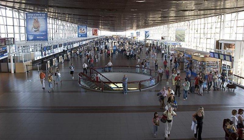 Aeropuerto internacional Arturo Merino Benítez, en Santiago de Chile.