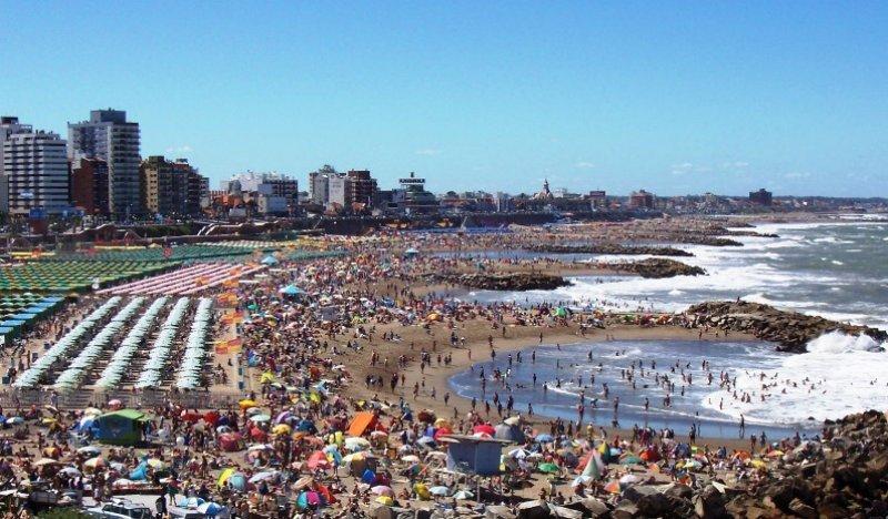 El fin de semana ingresaron 250 mil turistas a Mar del Plata.