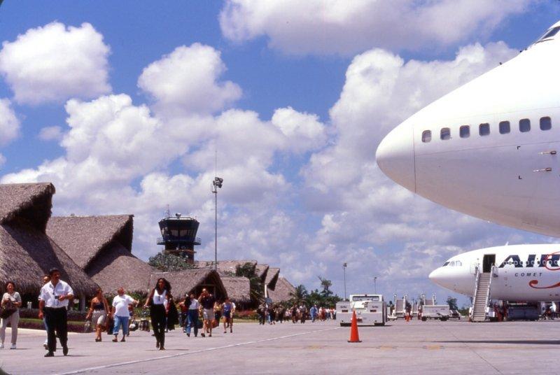 El aeropuerto internacional de Punta Cana es el que registró mayor cantidad de pasajeros