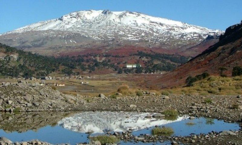 Volcán Copahue.