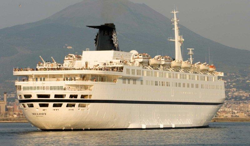 MSC Cruceros deja de operar con el buque 'Melody'.