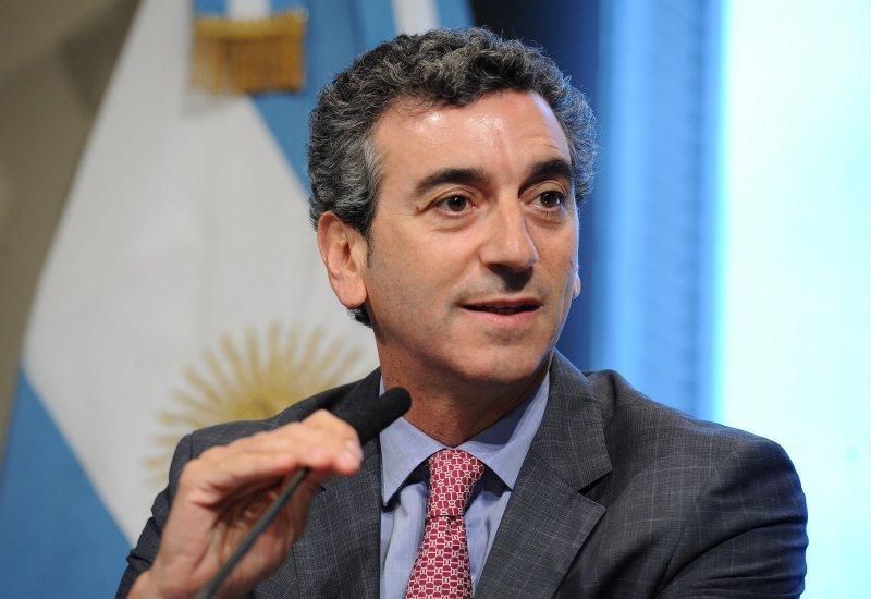 Florencio Randazzo, ministro del Interior y Transporte de Argentina.
