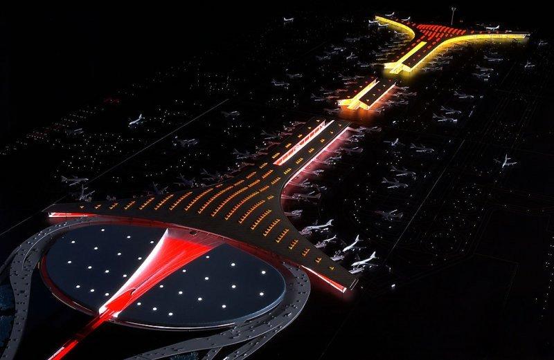 La intención es descongestionar el actual aeropuerto internacional de Beijing.