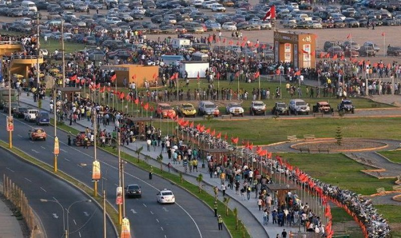 La organización asegura que más de 250.000 personas participaron del descanso en Tucumán.