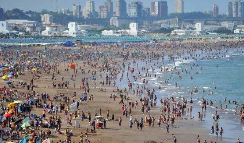 En la Costa Atlántica los turistas ya no vacacionan un mes completo.
