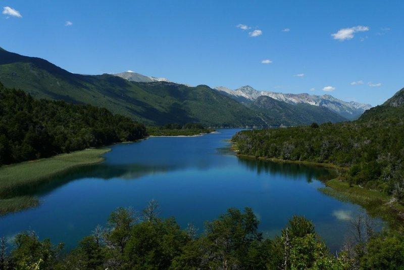 El Bolsón, destino patagónico elegido por el turismo argentino.