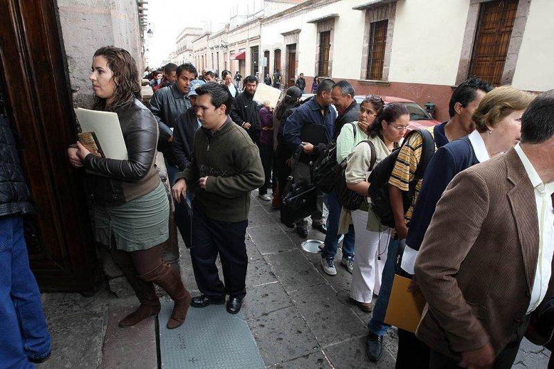 El desempleo en México bajó al 4,47% en 2012.