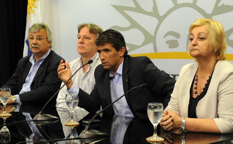 Conferencia de prensa (Foto: Presidencia de la Nación).
