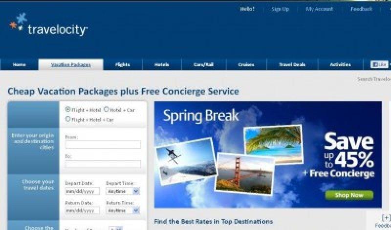 Travelocity introduce servicio de conserjería gratis para incentivar paquetes dinámicos.
