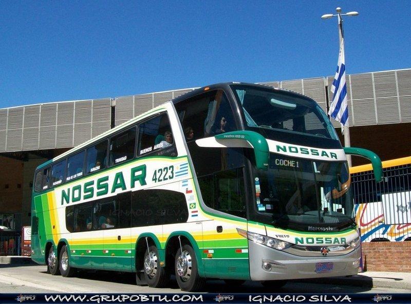 Nossar abre ruta Rivera-Buenos Aires atravesando cinco paradas