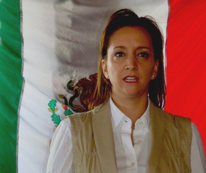 Claudia Ruiz Massieu, secretaria de Turismo de México.