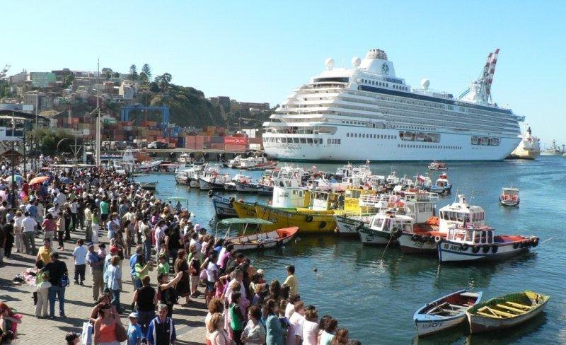 Cruceros dejarán más US$ 14 millones en Chile en 2013.