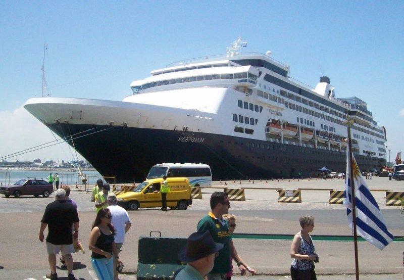 Hasta el momento arribaron 104 buques a Uruguay.
