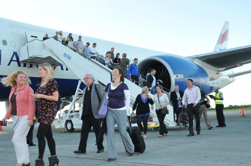 Récord de turistas internacionales en 2012: 1.035 millones.