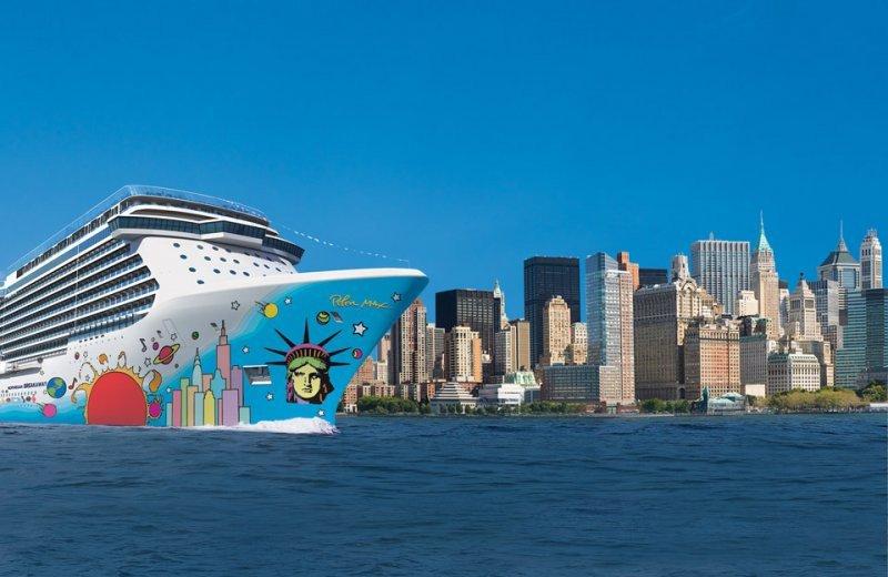 Norwegian Breakaway, el barco más nuevo de la compañía, hará su viaje inaugural en abril
