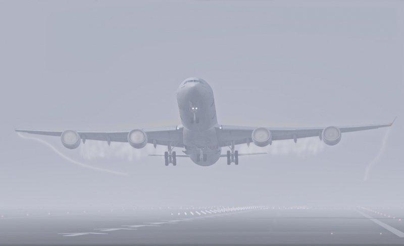 La niebla obliga al aeropuerto de Barajas a regular el número de aterrizajes