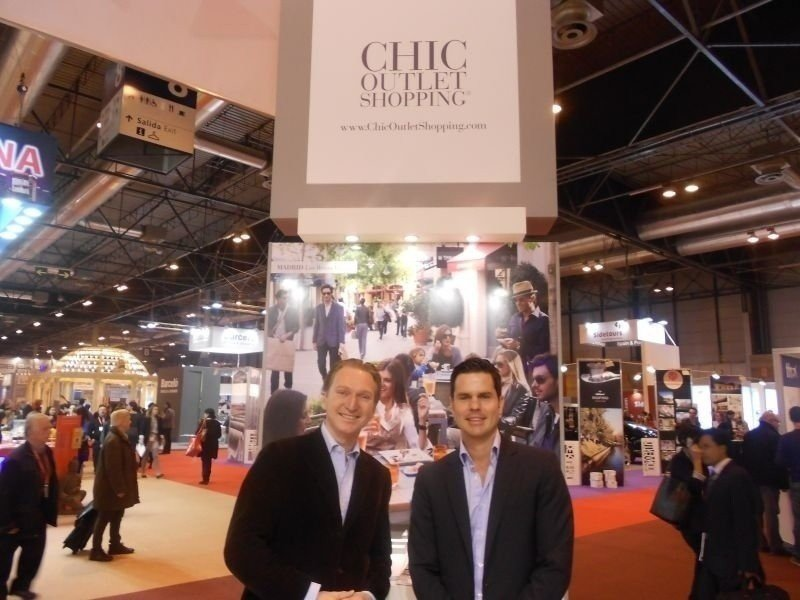 De izq. a dcha, Thibault Ruffat, director de Turismo de Value Retail para Europa; y Marcelo Molinari, director de Turismo para España.