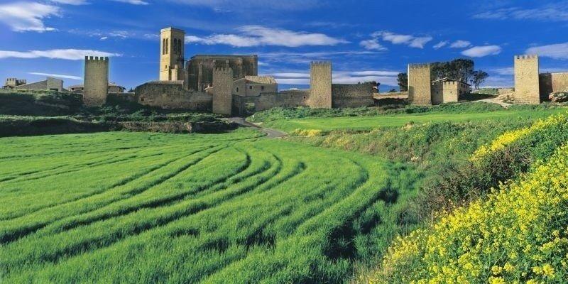 Navarra promociona este año la 'Ruta de los paisajes'.