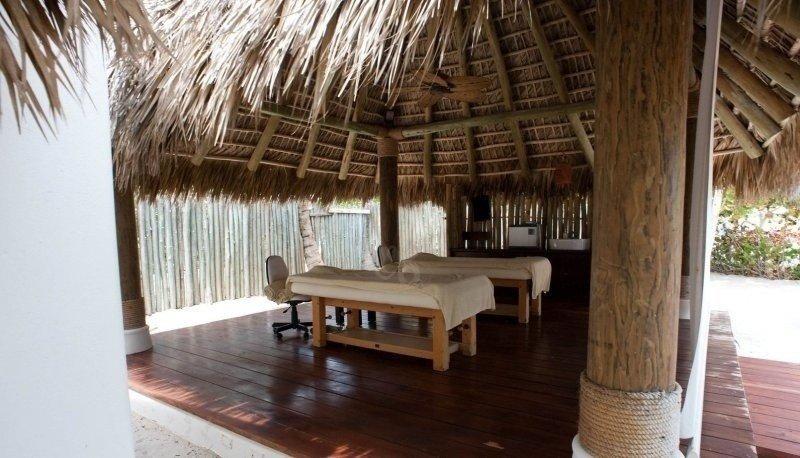 Spa del hotel Six Senses en Punta Cana.