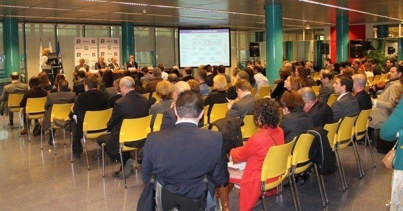 Evento de entrega de los 212 reconocimientos al turismo de calidad de Aenor en Fitur.