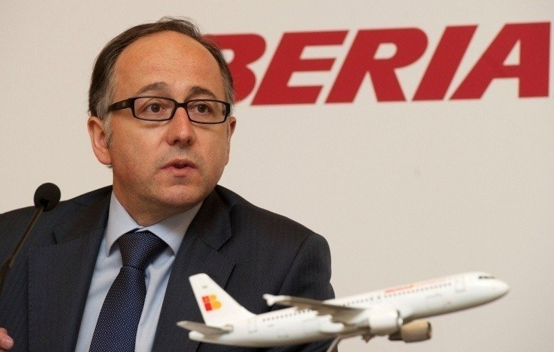 Iberia Express se queda un 8% por debajo de su previsión de tráfico en 2012