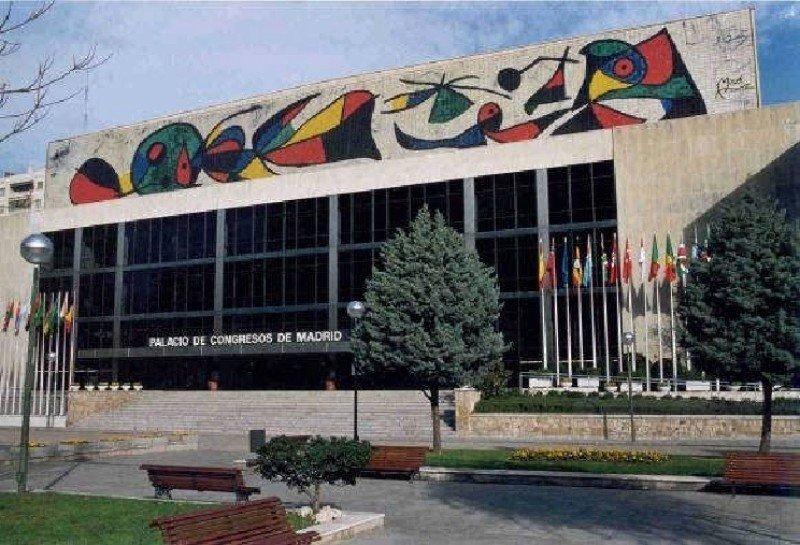 El Palacio de Congresos de Madrid continuará cerrado al menos hasta el 30 de abril.