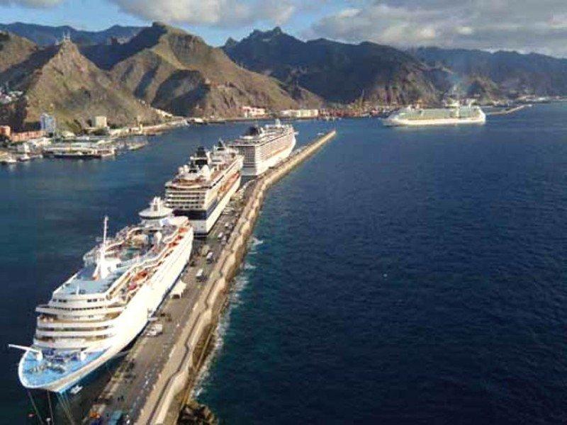 El Puerto de Santa Cruz, Tenerife, registró un significativo crecimiento en la llegada de cruceristas a la isla de un 10,21%.
