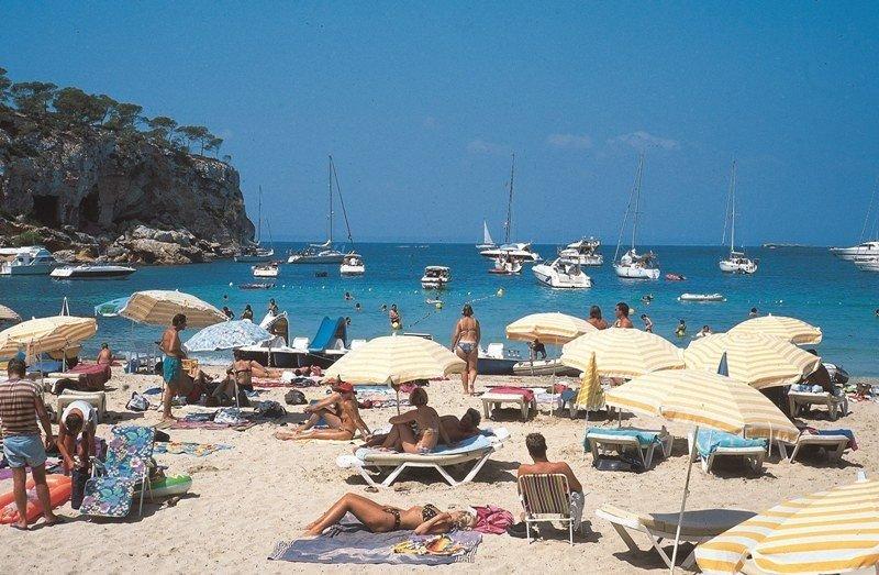 Una de las playas de Mallorca.