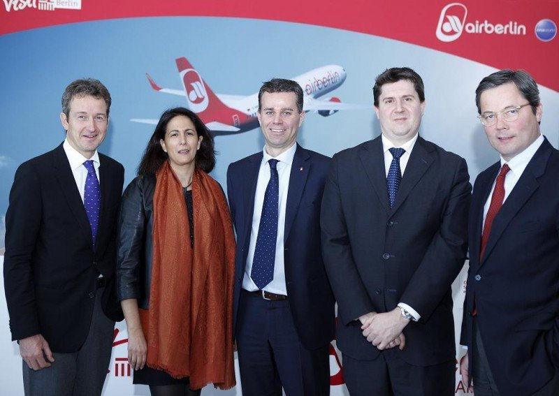 La secretaria de Estado de Turismo, Isabel Borrego, con (de izq. a dcha) Christian Tanzler, Paul Verhagen, Otto Gergye y el embajador alemán.