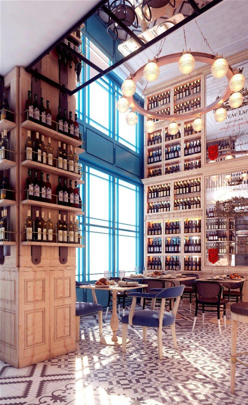 El restaurante contara con 140 plazas.