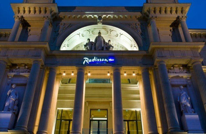 Radisson Blu Hotel Nantes.